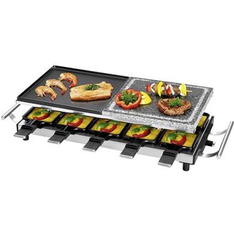 Proficook Raclette 10P + Stone/Iron Plate Grill