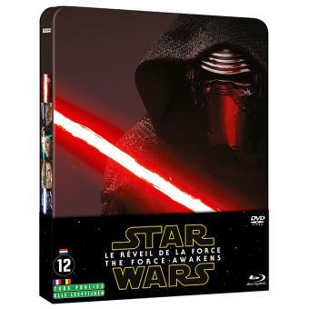 Star WarsStar Wars - Le Réveil de la Force Combo Steelbook Blu-ray + DVD
