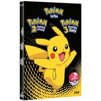 Les PokémonPOKEMON FILMS 1-2-3-FR