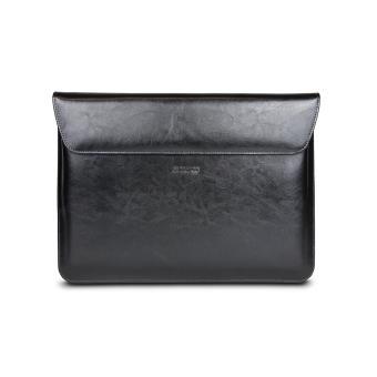 Housse Maroo pour Surface Book en Cuir Noir