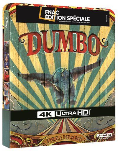 [Débats / BD] Les Blu-ray Disney en Steelbook - Page 12 Dumbo-Steelbook-Edition-Speciale-Fnac-Blu-ray-4K-Ultra-HD