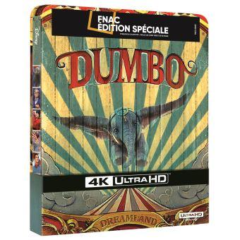 DumboDumbo Steelbook Edition Spéciale Fnac Blu-ray 4K Ultra HD