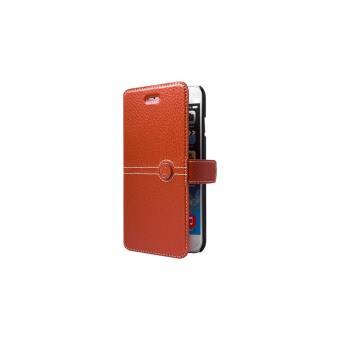 Etui Façonnable Folio pour iPhone 6 Plus Orange - Etui pour ... c220070f75be