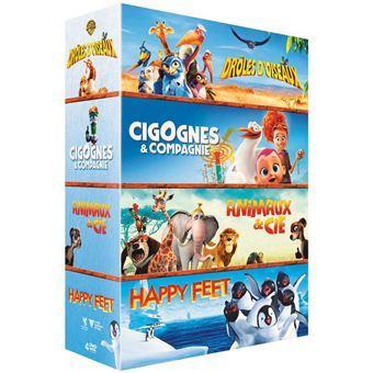 Coffret Animals DVD