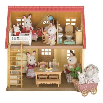set cottage cozy sylvanian families univers miniature achat prix fnac. Black Bedroom Furniture Sets. Home Design Ideas