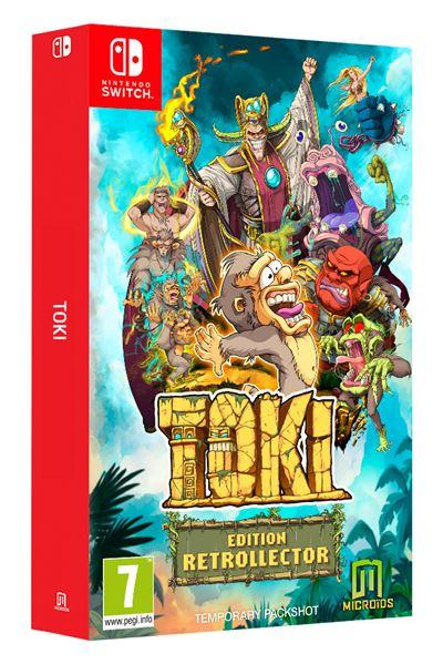 Toki Edition Rétrocollector Nintendo Switch