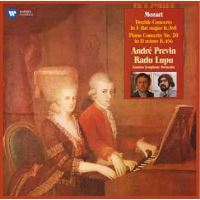 Mozart: Concerto for 2 Pianos, K365 & Piano Concerto No. 20, K466 - CD