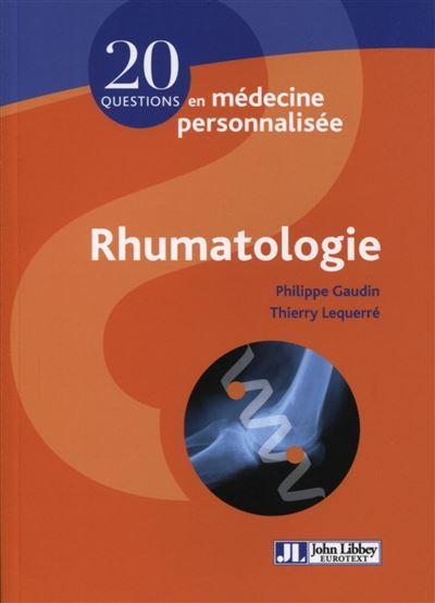 Rhumatologie
