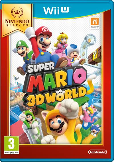 Super Mario 3D World Nintendo Selects Wii U