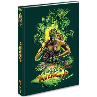 The Toxic AvengerCoffret Toxic Avenger La Tétralogie Combo Blu-ray DVD
