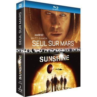 Coffret Seul sur Mars et Sunshine Blu-ray