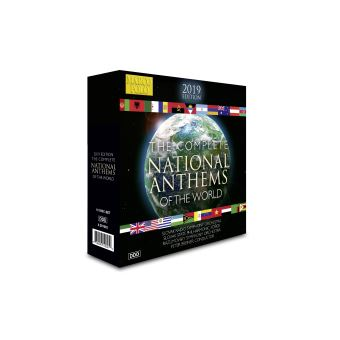 INTEGRALE DES HYMNES NATIONTAUX/10CD