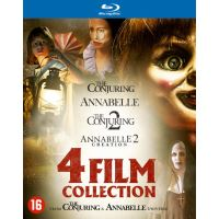 ANNABELLE 1+2+THE CONJURING 1+2-BIL-BLURAY