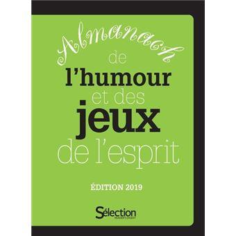 Almanach De L Humour Et Des Jeux De L Esprit 2019
