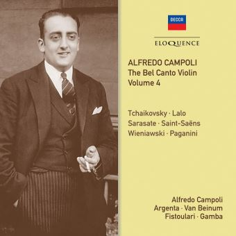 Bel canto violin vol 4