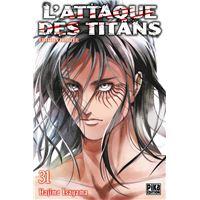 L'Attaque des Titans T31 Edition limitée