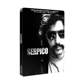 Serpico Steelbook Blu-ray 4K Ultra HD