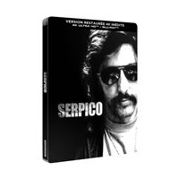 Serpico Steelbook Blu-ray 4K Ultra HD