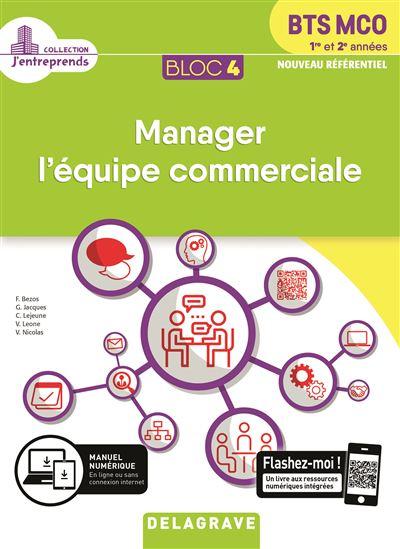 Bloc 4 Manager l'équipe commerciale 1e et 2e années - Elève