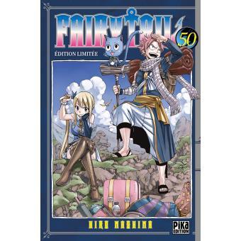 Fairy Tail - Avec 50 cartes, Edition limitée Tome 50 : Fairy Tail T50 Edition Limitée