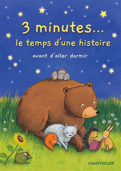3 minutes ... le temps d'une histoire avant d'aller dormir