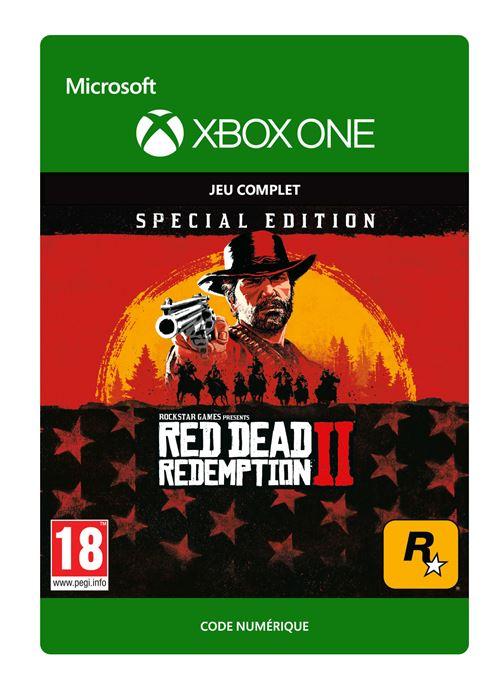 Code de téléchargement Red Dead Redemption 2 Edition Spéciale Xbox One