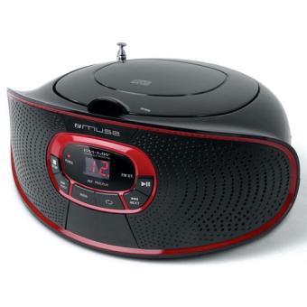 Radio Lecteur K7 CD et MP3 MUSE M20RD NOIR