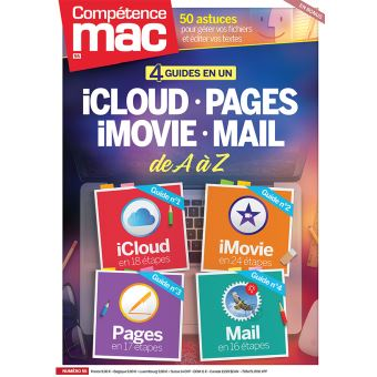 4 guides en 1 icloud pages imovie mail