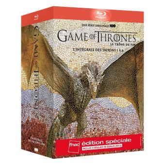 Le trône de ferGame of Thrones Intégrale des saisons 1 à 6 Edition spéciale Fnac Blu-ray