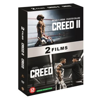 RockyCoffret Creed et Creed II DVD