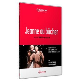 Jeanne au bûcher DVD