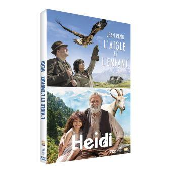 HeidiCoffret L'aigle et l'enfant Heidi DVD