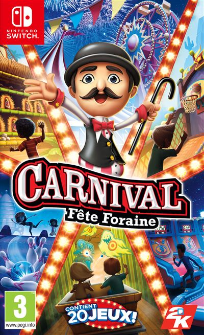 Carnival Fête Foraine Nintendo Switch