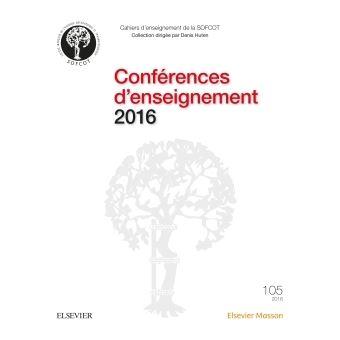 Conférences d'enseignement 2016