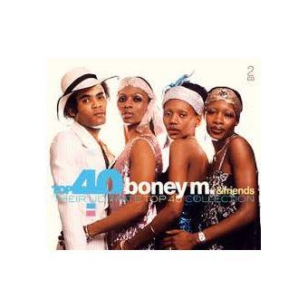 TOP 40 BONEY M AND/2CD