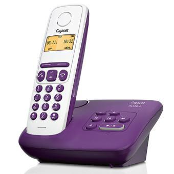 Téléphone fixe SIEMENS GIGASET AL130A VIOLET SOLO AVEC REPONDEUR