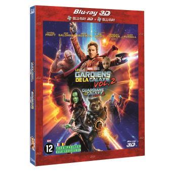 Guardians of the galaxyLes Gardiens de la Galaxie Vol. 2  Blu-ray 2D + 3D