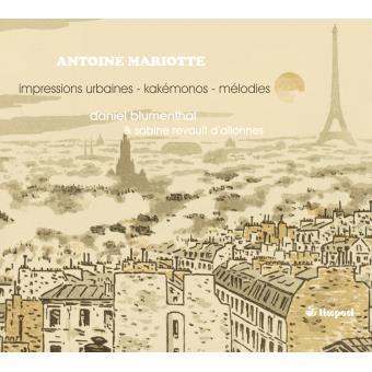 Impressions Urbaines-Lieder