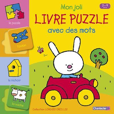 Mon joli livre puzzle avec des mots