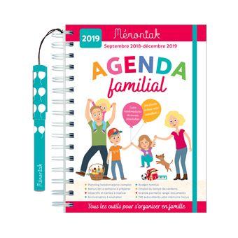 Agenda familial 2018-2019 Mémoniak