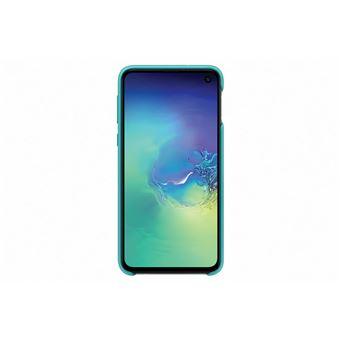 Samsung Galaxy S10E Silicone Cover Green