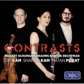Contrasts Trios pour clarinette, alto et piano