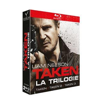 TakenCoffret Taken 1 à 3 Blu-ray