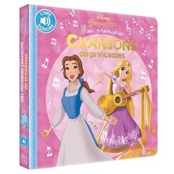 Disney Princesses Mes Premières Chansons De Princesses Walt