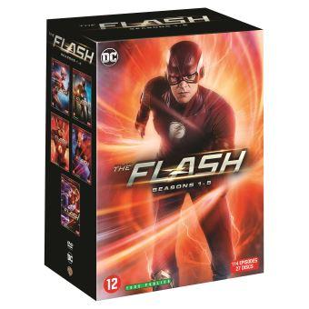 FlashCoffret Flash Saisons 1 à 5 DVD