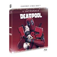 Coffret Deadpool 1 et 2 Blu-ray