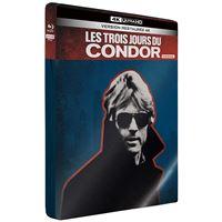 Les 3 Jours du Condor Edition Limitée Steelbook 4K Ultra HD