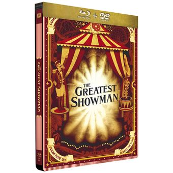The Greatest Showman Steelbook Edition Limitée Combo Blu-ray DVD