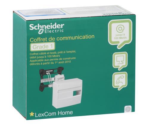 30% sur coffret de communication grade 1 schneider electric