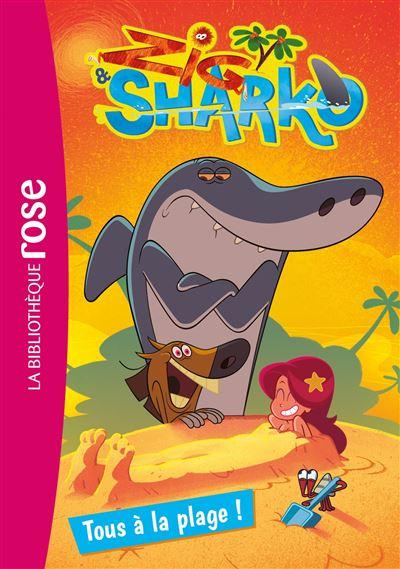 Coloriage Gratuit Zig Et Sharko.Zig Et Sharko Tome 1 Tous A La Plage